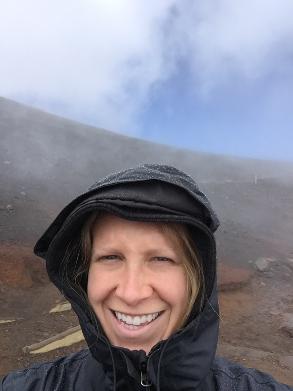 "The classic ""I'm in a volcano"" selfie!"