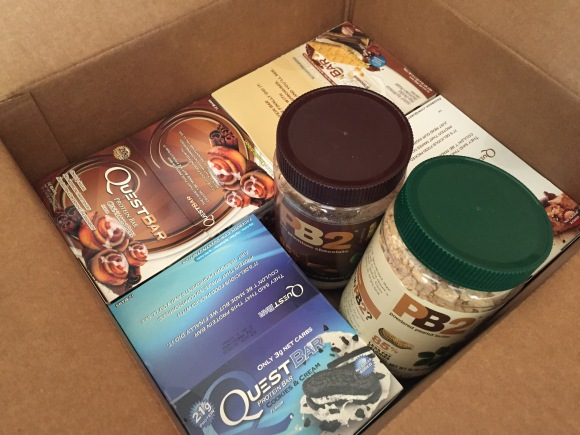 I LOVE when my Quest Bars arrive!