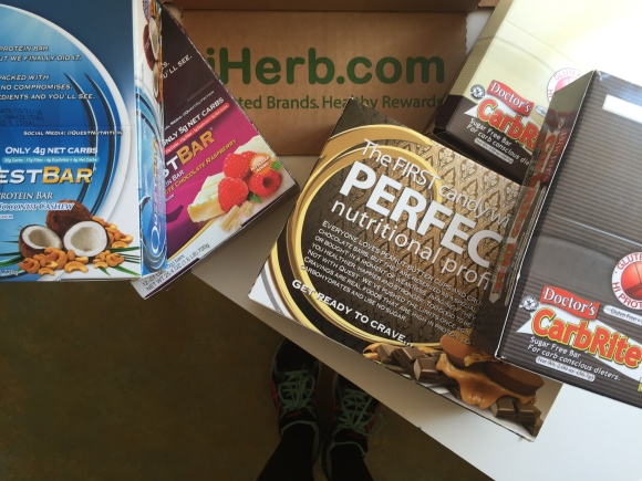 Snacks from iHerb!